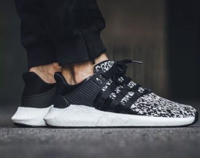 Adidas Eqt Support 93/17  Glitch Black
