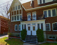 Super 4 1/2 lower triplex at TMR. For rent June or July 1st.
