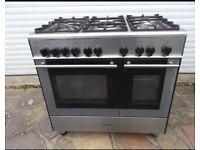 Kenwood stainless steel range cooker