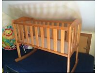 Rocking crib *price lowered for quick sale*