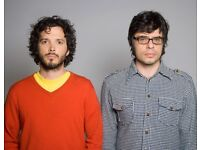 2 x SOLD OUT FOTC Flight of the Conchords Tickets - HAMMERSMITH Eventim Mon 19th March 2018!
