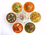 Indian Tiffin Service with 5 course Meal JUST FOR £5.99 with complimentary Pickle and salad