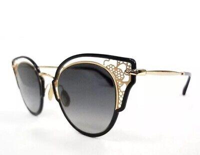 JIMMY CHOO Sunglasses DHELIA/S Black Gold Grey Gradient 2M2 Women Authentic (Jimmy Choo Black Sunglasses)