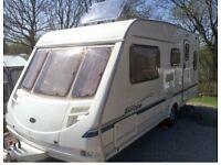 Caravan 5 berth. Sterling Europa 500/5 2002