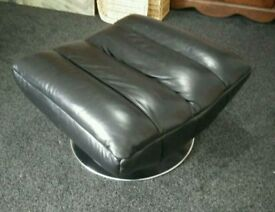 Leather Large Single Seater Settee or Couch Footstool (worth £150 on argos)