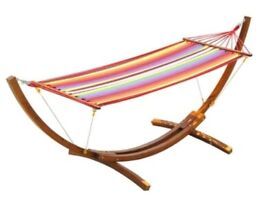 Outsunny wooden hammock