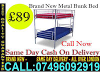 ***CASH ON DELIVERY*** Brand New bunk,,,,, Single Double /Small Double/ Kingsize Bed....Call Now