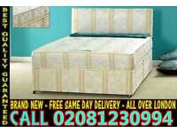****WOW FREE DELIVERY*** Small Double Single Double King size Base Bedding BASE russianising