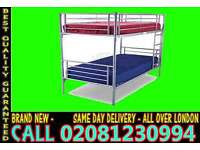 ****SUPPER QUALITY*** single metal bunk split in 2 single (Base) Bedding