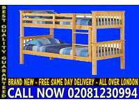 SINGLE Wooden bunkConvertable in to 2 Single Base / Bedding