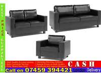 Italian 3, 2, 1 Leather SOFA SUITE, from £199 Brand New