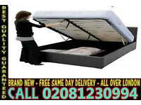 **** WOW FREE DELIVERY *** SINGLE DOUBLE KING SIZE LEATHER BEDDING