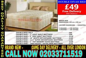 double bed nd mattress Ronald