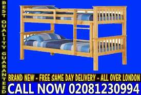 SINGLE Wooden bunkConvertable in to 2 Single Base / Bedding