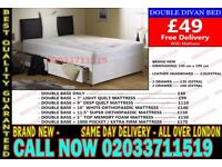 ***Brand New Double Divan Bed Available with Mattress*** Helena