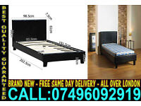 ****FREE DELIVERY**** Brand New Faux leather single Double and kingsize Bed ..Call Now