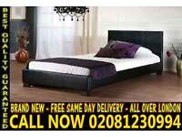 SINGLE DOUBLE KING SIZE LEATHER BEDDING