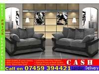 BRAND NEW HIGH QUALITY 3 AND 2 SEATER FABRIC SOFA SUITES AVAILABLE IN CORNER SETTEE