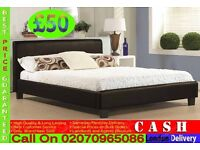 Single, Double And King Size Leather Bed And Mattress