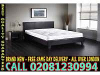 ****WOW FREE DELIVERY*** SINGLE DOUBLE KING SIZE LEATHER BEDDING