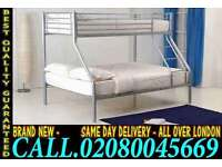 **CASH ON DELIVERY**Brand New Trio Bunk Bed & mattress..CALL NOW