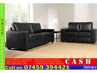 BRAND NEW 3 and 2 Seater Faux Leather Sofa Suite