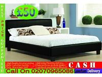 Single, Double , King Size Leather Bed And Mattress