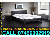 **Free Express Delivery**Brand New Single Double & King Size Leather Bed Contact Now