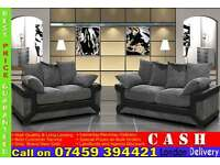 JUMBO CORD FABRIC CORNER SOFAS AND 3 + 2 SEATER SUITES