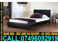**Free Express Delivery** Brand New Faux leather single Double and kingsize Bed ..Call Now
