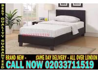 ***BRAND NEW SINGLE KING SIZE AND DOUBLE SIZE LEATHER BED Available With MATTRESS*** Blomkest