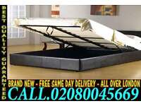 **Free Express Delivery**Double Single or King size Storage Leather Bed ..............Call Now
