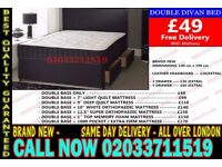 ***Brand New Double Divan Bed Available with Mattress*** South Shore