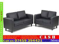 Brand New 3+2 PU/Faux Leather SOFA SETs from £199