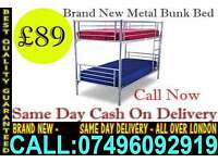 Single - Double Bunk Bed With Mattress
