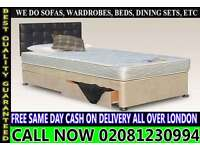SINGLE DOUBLE SMALL DOUBLE KING SIZE BEDDING BASE