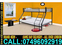 **CASH ON DELIVERY** Brand New Bunk Bed & Mattress Call Now