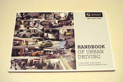 """Smart . Smart 2011 .  """"Handbook of Urban Driving""""  . 2011 Sales Brochure"""
