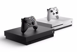 Looking for Xbox one S or Xbox one X