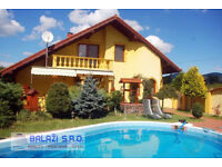 SLOVAKIA - 5 bedroom villa with an attached industrial production plant and a storage facilities