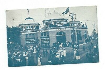 PostMarked 1911 Canadian National Exhibition  Toronto Canada    Post Card  -