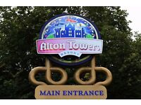 Alton Towers Tickets - Use any day - Valid til the end of the year - only £20 each
