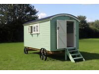 Hand Built Shepherds Hut - NEW