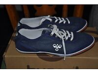 New denim style Hummel trainers eur 37 ( uk 4 ) Miss denim breeze low