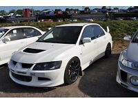 WANTED!! Mitsubishi Lancer Evo 7 or 8 (May consider blob eye sti) (Not Honda type r BMW Nissan )