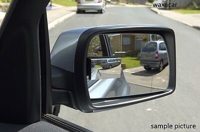 Car & Van Wide View Self Adhesive Wing Convex Rectangle Blind Spot Mirror #5575