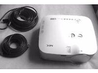 NEC 1150 projector (3700 lumens)