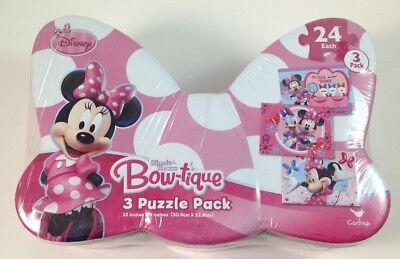 Disney Minnie Mouse Boutique 3 Puzzle Pack 12
