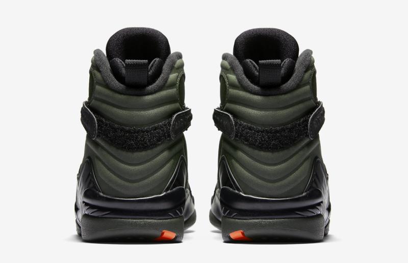 ac476f977b9 ... Nike Air Jordan 8 Retro Take Flight Size 4-15 Sequoia Black Orange  305381 305 ...