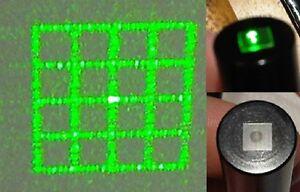 GRID lens for AixiZ 12X30mm laser modules